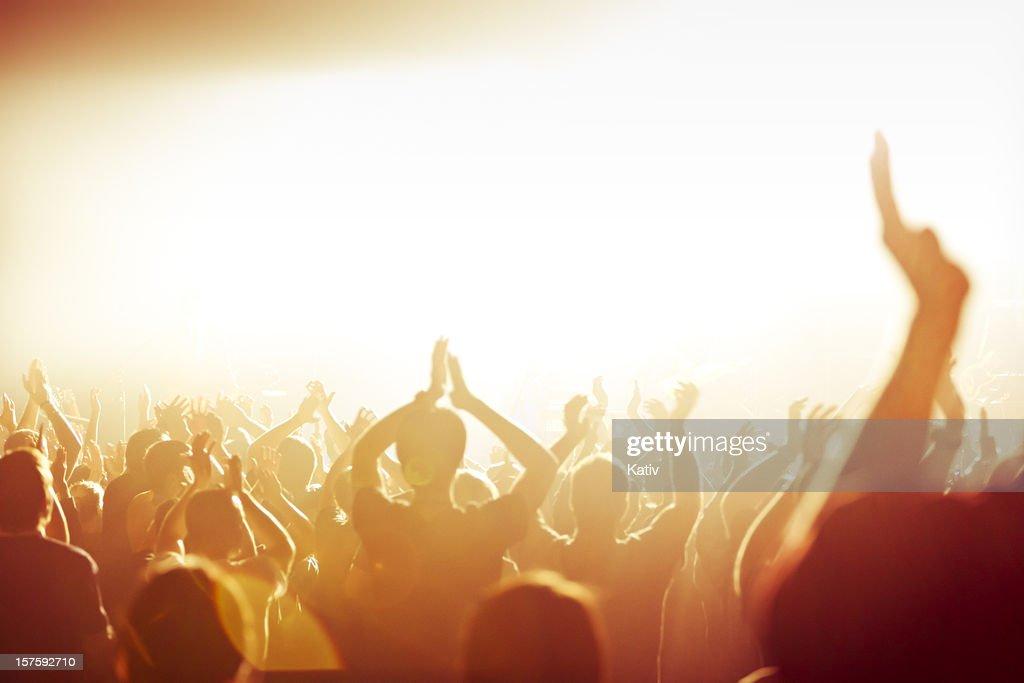 Hands in Worship : Stock Photo