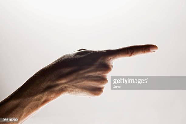 hands making emphatic gesture - aiming stock pictures, royalty-free photos & images