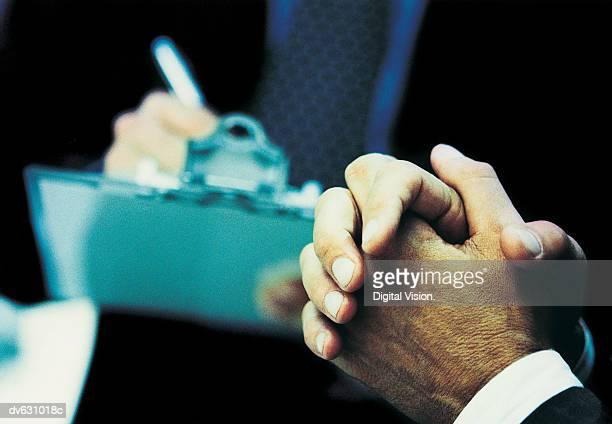 Hands of a Businessman