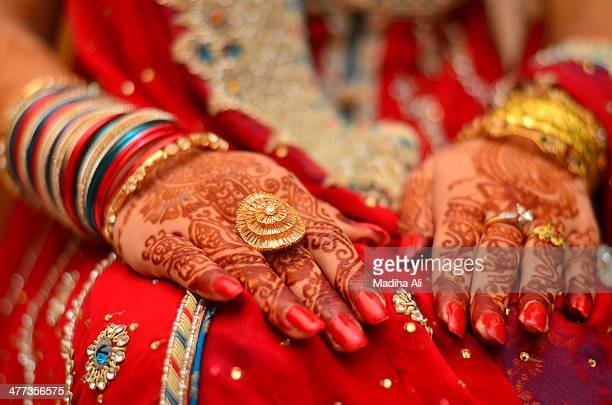 Hands of a Pakistani Bride!