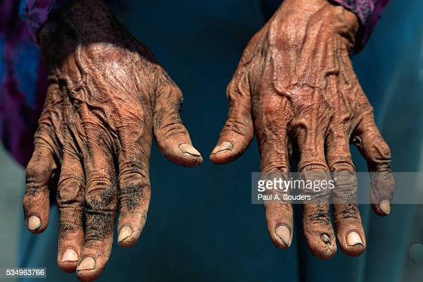 Hands of an Indonesian Woman
