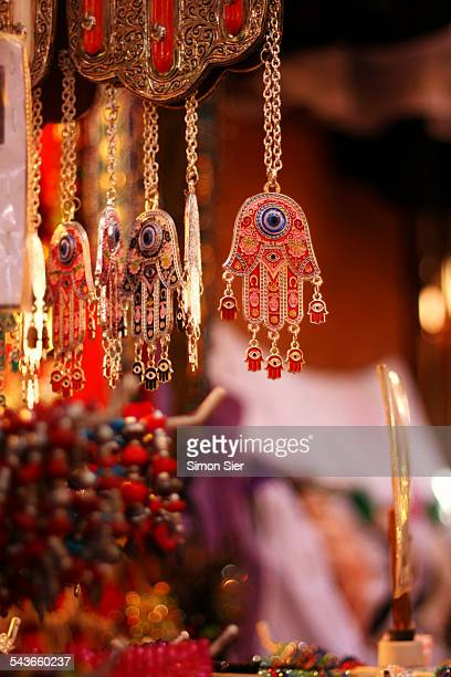 hands of fatima - hamsa symbol stock photos and pictures