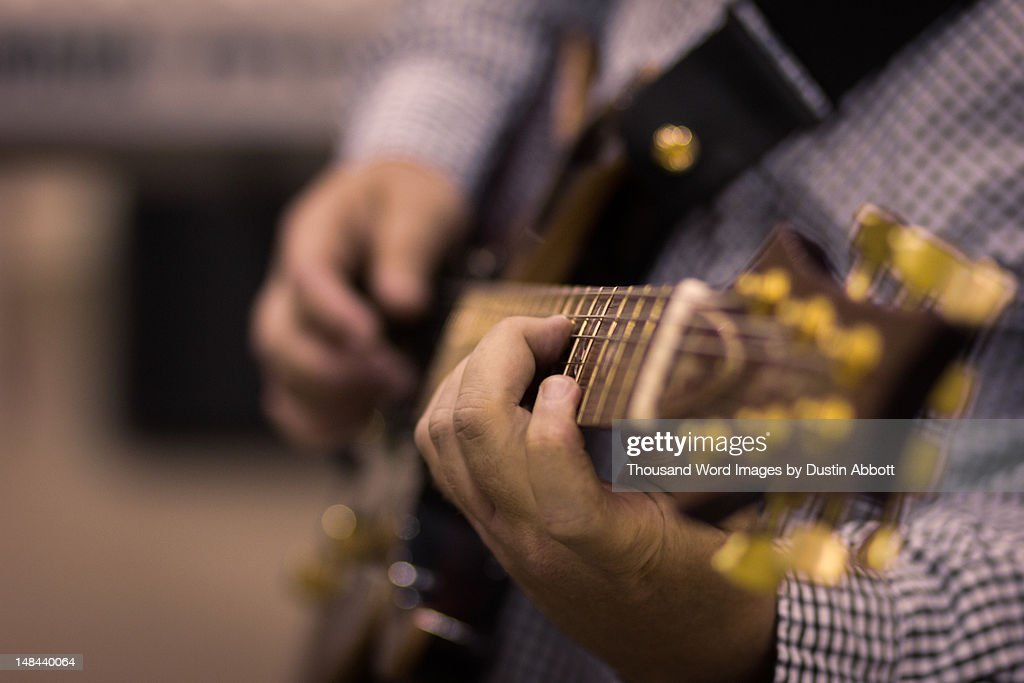 Hands of master : Stock Photo