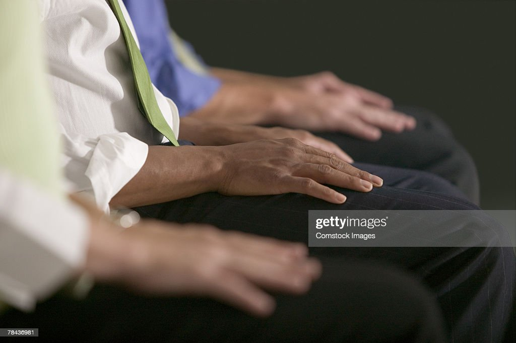 Hands of men : Stockfoto