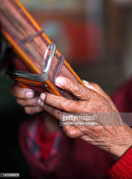 hands of old holy man - dietmar temps stock photos and pictures