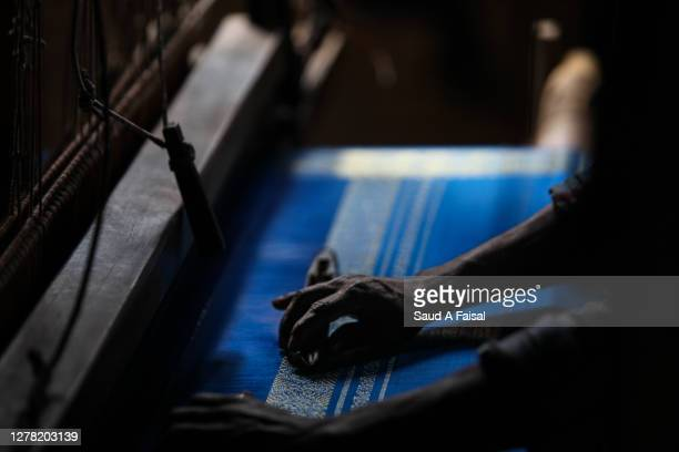 hands of weaver - bangladesh stock pictures, royalty-free photos & images