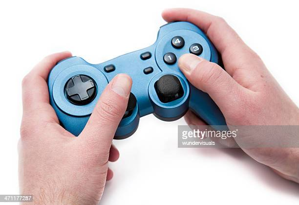 hands on an generic gamepad