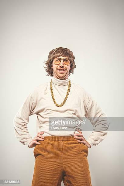 Hands on Hips Retro Seventies Man