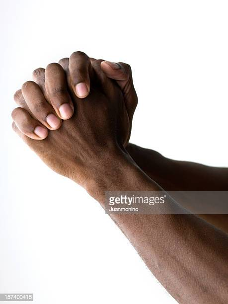 hands praying - praying hands stock pictures, royalty-free photos & images