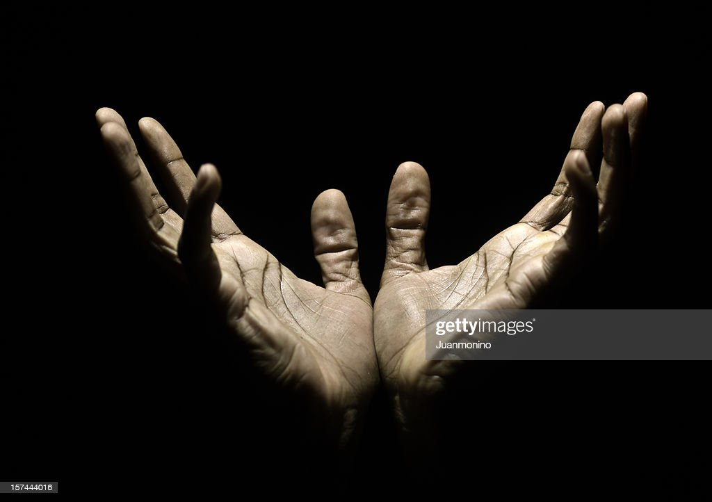 Hands to Heaven : Stock Photo