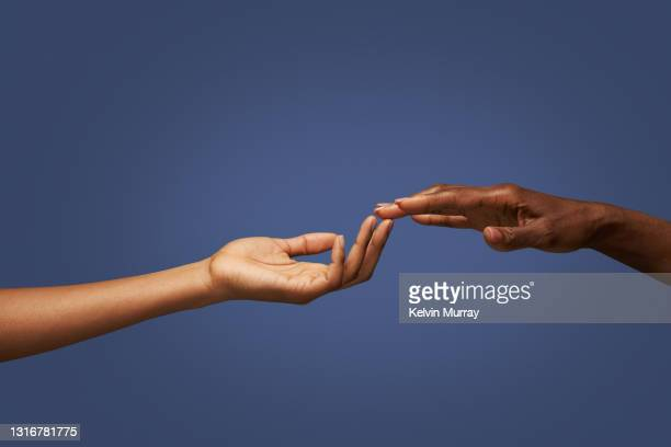 hands touching fingers - hand stock pictures, royalty-free photos & images