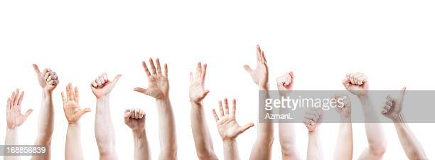 mains - main tendue photos et images de collection