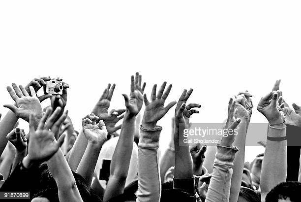 hands up  - hands up stock photos and pictures
