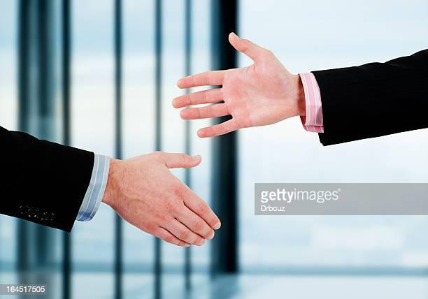 Hände schütteln Vertrag