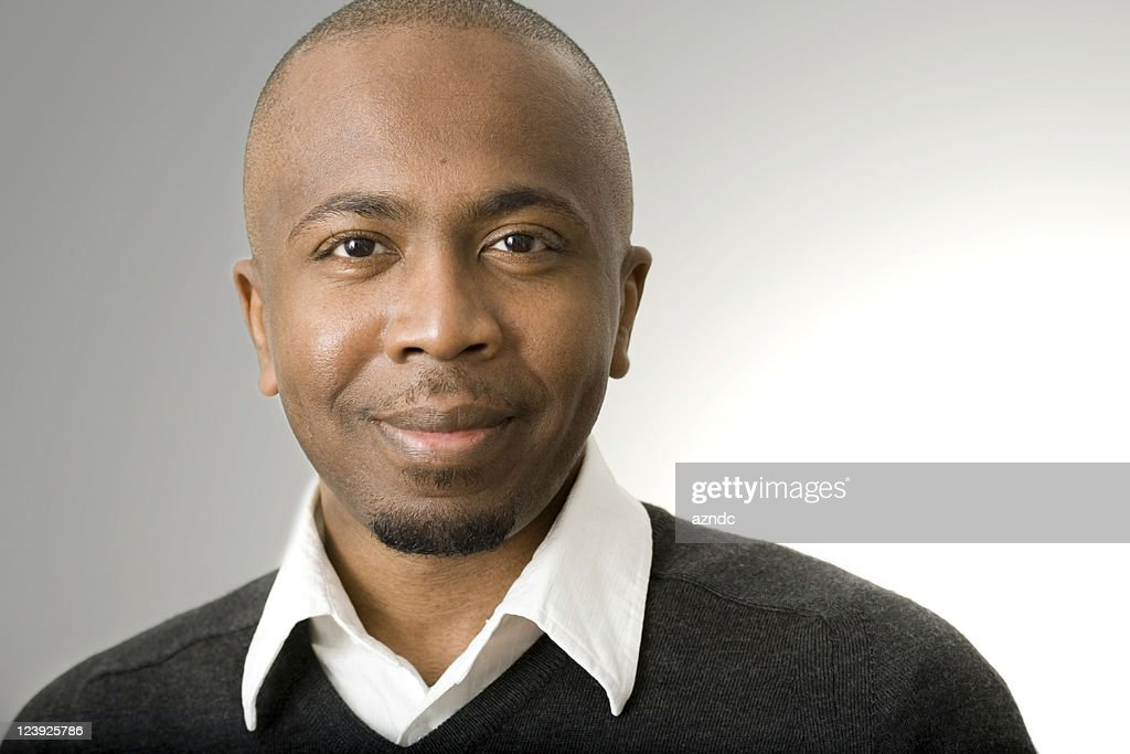 handsome black man photography