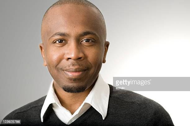 handsome black man - goatee stock pictures, royalty-free photos & images