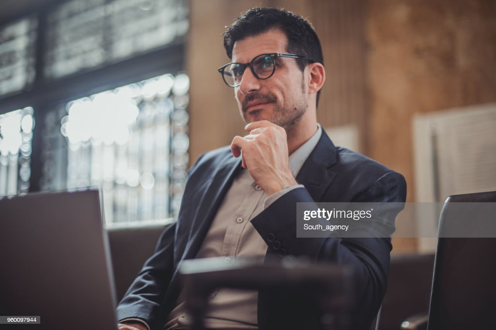 Handsome businessman : Stock Photo