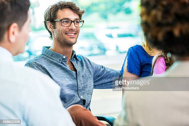 Handsome Caucasian Man