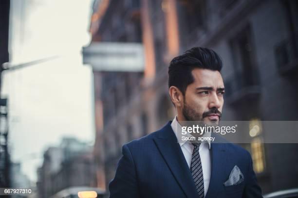 Handsome charming businessman