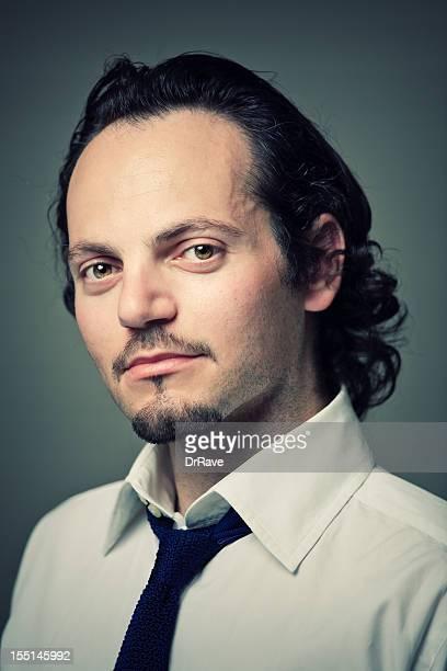Gut aussehender Mann Porträt griechischen