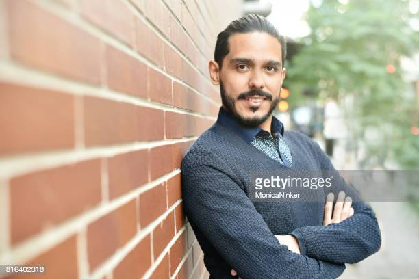 handsome hispanic hipster - handsome mexican men stock pictures, royalty-free photos & images