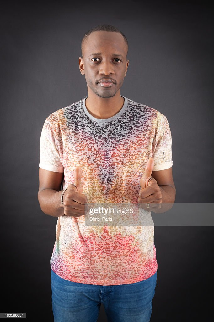 Handsome man doing different expressions in different sets of clothes : Stock Photo