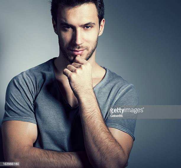 World S Best Brown Hair Brown Eyes Male Stock Pictures