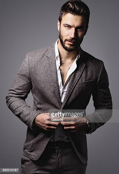 handsome man - model stock photos and pictures