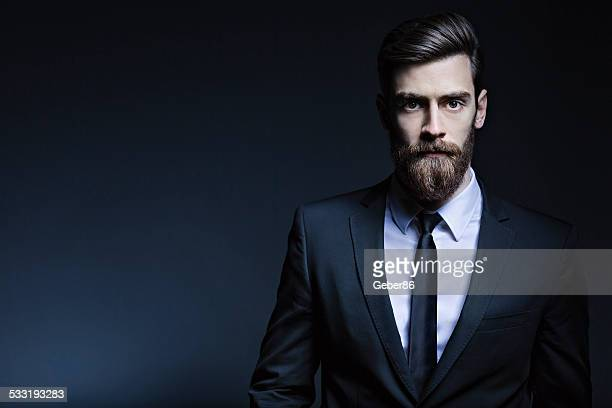 handsome man - beard stock pictures, royalty-free photos & images