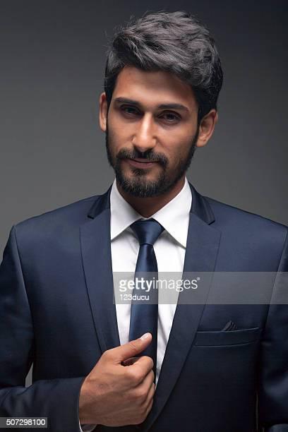 Handsome Middle Eastern Businessman