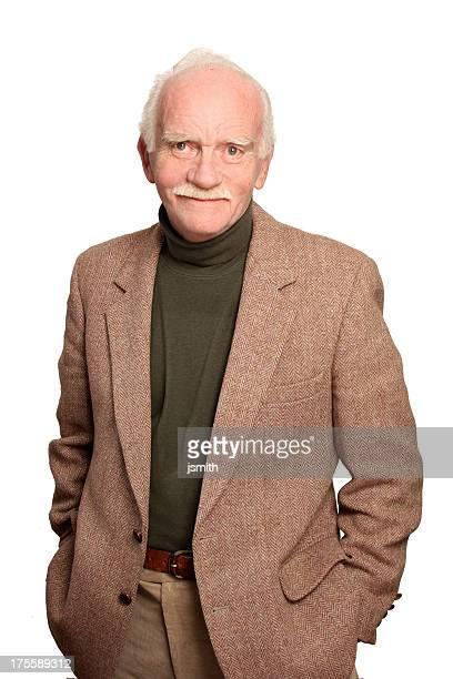 Handsome senior man