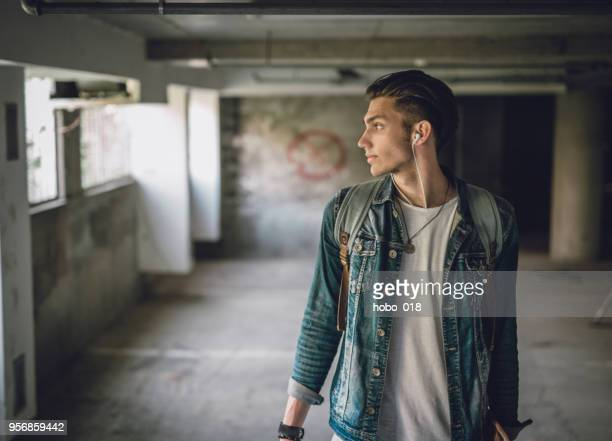 handsome skater boy - funky stock pictures, royalty-free photos & images