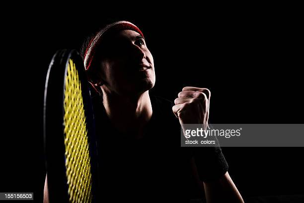 handsome tenis player