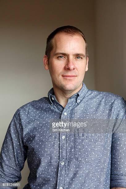 Handsome white man, portrait