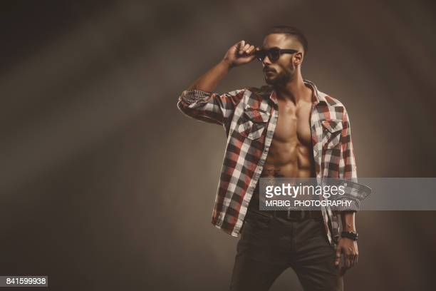 handsome young men - manhood stock photos and pictures