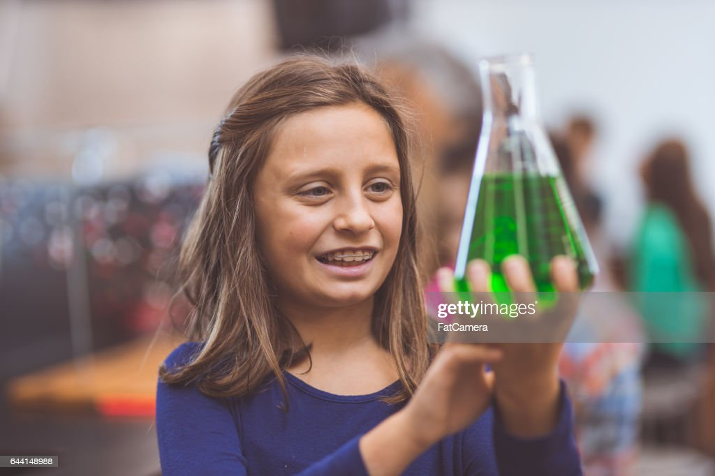 Hands-on science lab : Stock Photo