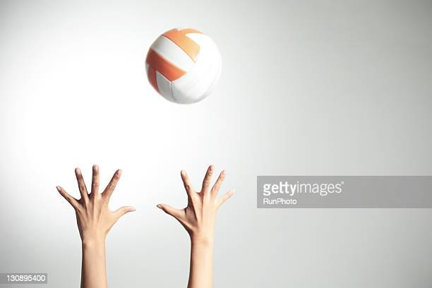 hands&volleyball,hands close-up