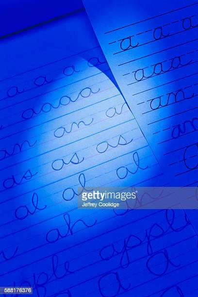 Handwriting on Lined Paper