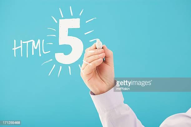 Handgeschriebene HTML 5