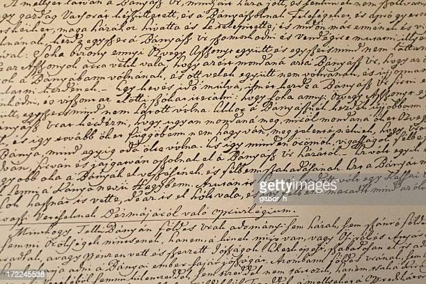 Manuscrites texte 1