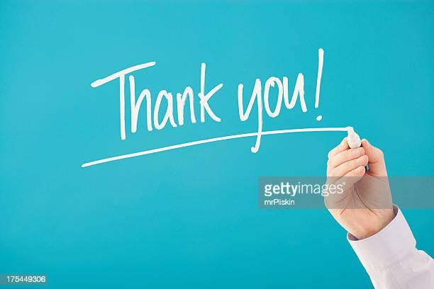 Handwritten Thank You