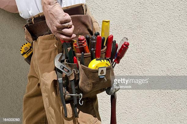 Handyman With Tool Belt