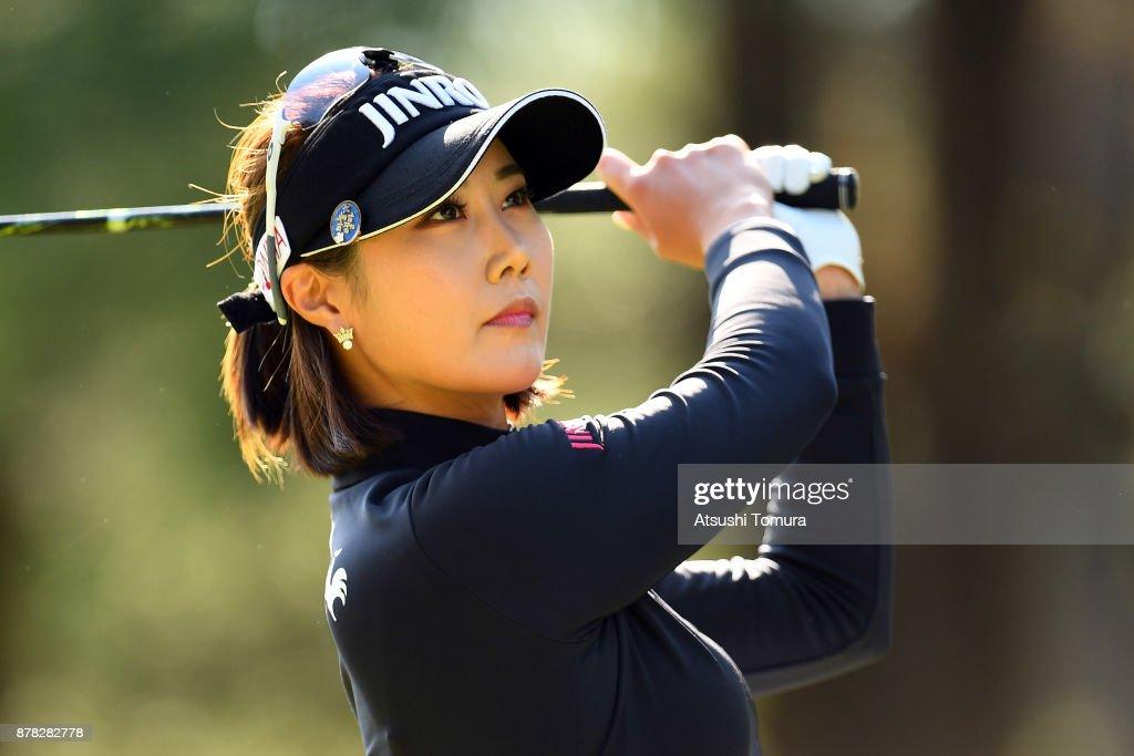 LPGA Tour Championship Ricoh Cup 2017 - Round Two : News Photo