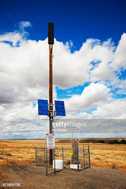 Hanford Nuclear Reservation Warning Siren Station