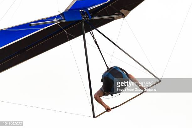 hang glider - glider stock photos and pictures