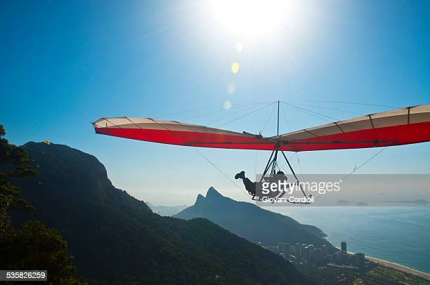 Hang gliding at Rio de Janeiro