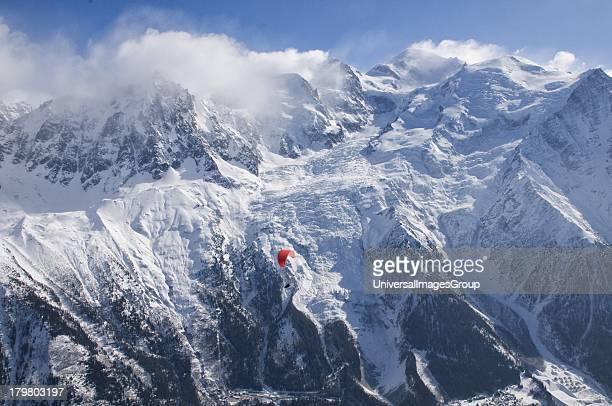 Hang Gliding Near Mt Blanc Chamonix France