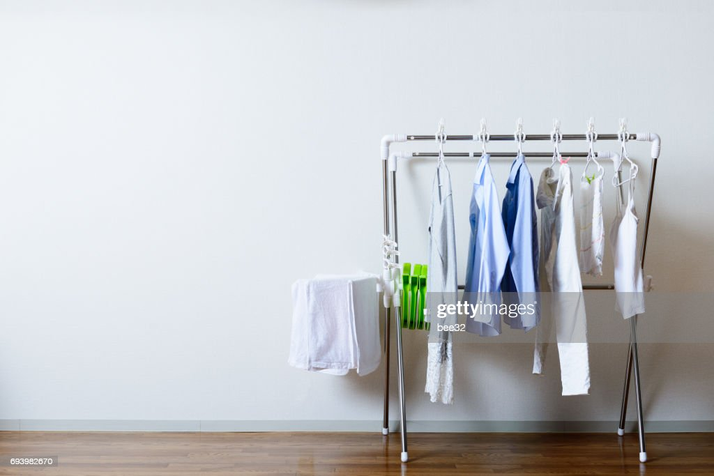 Hang out clothes : Stock Photo