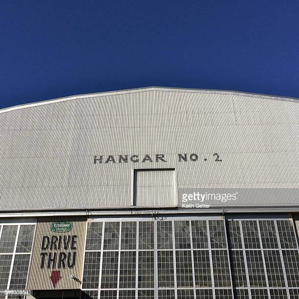 Hangar 2 of the former Lowry Air Force Base in Denver Colorado now converted into a selfstorage facility with the surrounding property a mix of local...
