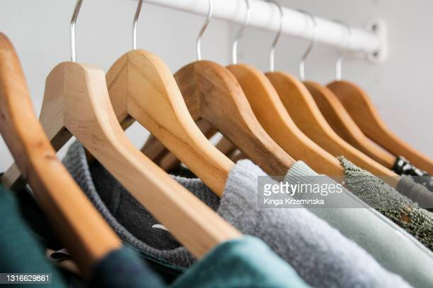 hangers - fashion collection stock pictures, royalty-free photos & images